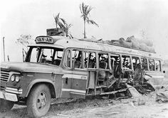 """On April 30, 1967, a civilian bus traveling on Highway 1, east of Trang Bang, came upon a bridge destroyed by the Viet Cong. While turning his bus around, the driver ran over a Viet Cong land mine. Twenty persons were wounded and one died later as a result of injuries.  UNCENSORED HISTORY: Dark Chapters Of History: Images Of War, History , WW2: The """"Bad, Bad"""" Vietcong"""