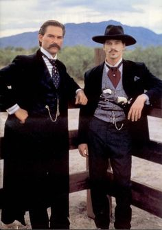 "Kurt Russell & Val Kilmer. Both deserved an Oscar for their performances in"" Tombstone."" Neither got even a nomination. Seriously! Does the academy even watch the eligible films?!"