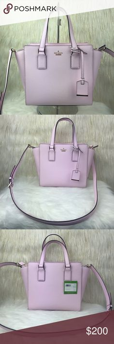 111f25b55e KATE SPADE SMALL HAYDEN SATCHEL CROSSBODY BAG BWNT