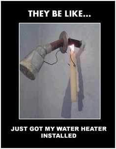 Now that will surely give you a warm shower! LOL