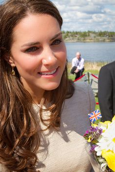 July 5, 2011: The Duke and Duchess of Cambridge on the sixth day of their tour of Canada. Prince William and Catherine at the official welcome in Yellowknife.