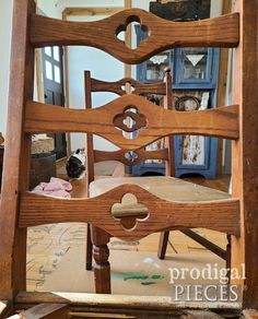 Salvaged Spring Decor from Broken Chairs - Prodigal Pieces Spring Art, Spring Green, Pocket Hole Jig, Easy Entry, Chair Backs, Canister Sets, Furniture Redo, Botanical Prints, Barn Wood