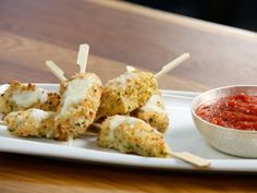 Get Tia Mowry's Chicken Parmesan Sticks Recipe from Cooking Channel