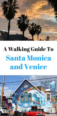 A walking guide to Santa Monica and Venice, including where to find colorful street murals Beach Travel, Beach Trip, Travel Usa, Travel Info, Travel Guides, Travel Tips, Santa Monica, California Travel Guide, Street Mural