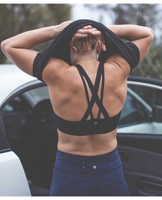 Keep your essentials close. The Run for Days Bra.