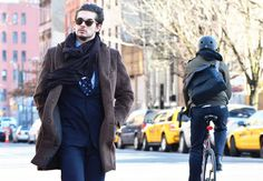 Tommy Ton at New York Fashion Week Fall 2012- Men's Street Style: Style: GQ