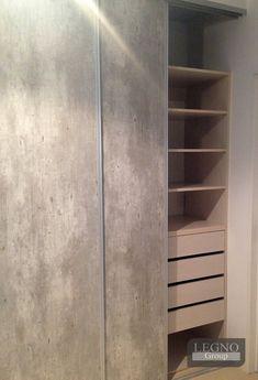Interior en melamina maple de 18mm con cantos de pvc- Frente de placard melamina… Tall Cabinet Storage, Locker Storage, Closet Designs, Sweet Home, House, Furniture, Bathroom, Tv, Home Decor
