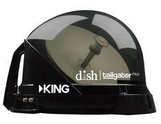 King Dish Tailgater Pro Vq4900 Premium Rv Satellite Antenna Satellite Antenna Tv Antenna Satellite Tv