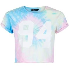 New Look Teens Pink Tie Dye 94 Print T-shirt ($13) ❤ liked on Polyvore featuring tops, t-shirts, shirts, pink pattern, print top, print tees, pink tops, pattern tees and tye die t shirts