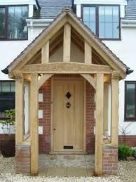 Image result for house exteriors with oak porch
