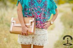 Crimenes de la Moda: Crochet shorts