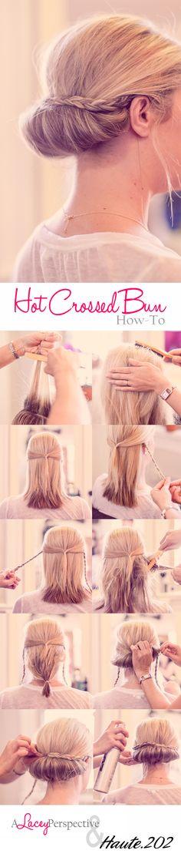 Hair How To: Hot Crossed Bun