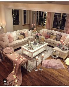 Pottery Barn, Female Bedroom, Dream Apartment, Apartment Living, Apartment  Ideas, Rose Gold Decor, Den Ideas, Pool Houses, Hygge