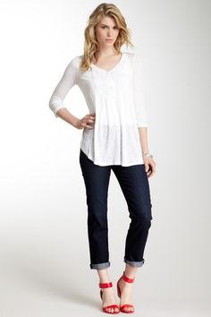 Straight Leg Jean by Miraclebody Jeans on @HauteLook
