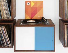 "CJWHO ™ (turn table and vinyl record storage ""LP storage""...) — Designspiration"