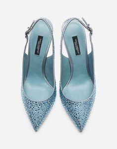 Women's Pumps, Pump Shoes, 5 Inch Heels, Pink Satin, Jewels, Crystals, Leather, Concept, Handbags