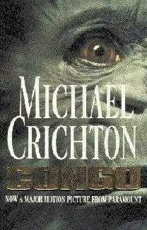 book cover of     Congo     by    Michael Crichton