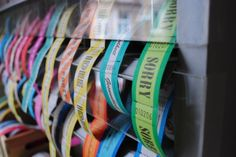 Wertmarken fürs Leben von der Feinen Billetterie Made in Hamburg Kino Eintrittskarten Vintage