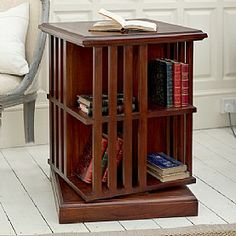 1930s Rotating Bookcase