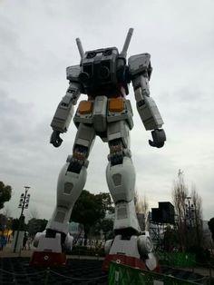 Gundam in Odaiba Tokyo