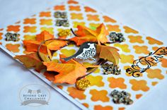 Fall is here - card