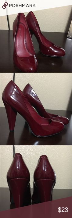Red pumps Never worn INC International Concepts Shoes Heels