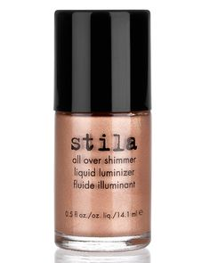 Stila Summer 2012 Collection All Over Shimmer Liquid Luminizer ($20.00) ◾Pink Shimmer ◾Bronze Shimmer ◾Rose Gold Shimmer ◾Kitten Shimmer