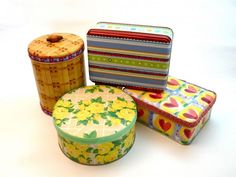 How to transform holiday tins into practical storage containers - CraftStylish