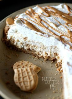 Nutter Butter Pie