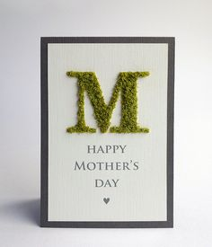 Check out this great moss/grass look created with a die cut & FlowerSoft! [card by Aga]