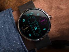 Moto 360 Car alarm app by Alex Martinov
