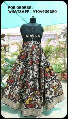 Frocks for kids Kalamkari Designs, Choli Designs, Kurta Designs Women, Baby Frock Pattern, Frock Patterns, Indian Designer Outfits, Indian Outfits, Designer Dresses, Kalamkari Dresses