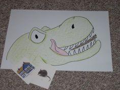 rhyme eating dinosaur