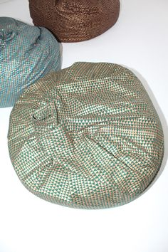cool metallic bean bags
