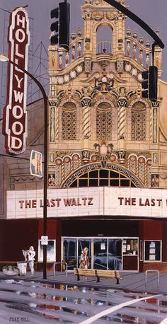 The Last Waltz Painting by Mike Hill - The Last Waltz Fine Art Prints and Posters for Sale
