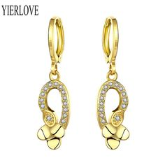 Earrings Fashion Jewelry Silver Plated Clip Earring Women Wedding Party Fashion Jewelry Gl Factory Direct Selling Price