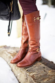 winter/fall boots! love the color