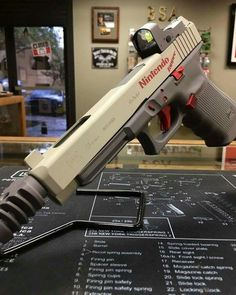 Glock mod with Zapper flair