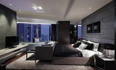 grey scheme Luxury Modern Master Bedrooms Pictures