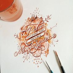Lettering & Calligraphy Inspiration | #1233