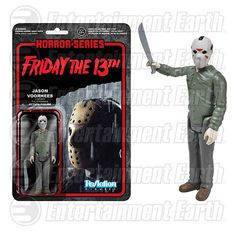 Friday the 13th Jason Voorhees ReAction Retro Action Figure