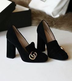 gucci marmont suede pumps Fashion 101 2f28cb68886