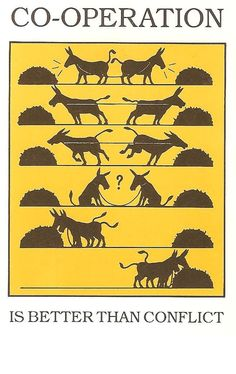 Streit der Esel