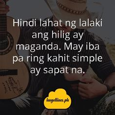 May iba pa ring kahit simple ay sapat na. tagalog love quotes, tagalog love quotes for him, tagalog love quotes for her, kilig quotes tagalog, inspirational tagalog love quotes Love Quotes For Her, Quotes For Him, Love Qutoes, Tagalog Love Quotes, Hugot Lines, Line Love, Text Messages, Funny, Inspirational