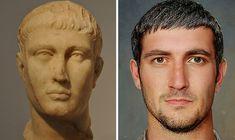 Emperor Augustus, Roman Emperor, Roman Art, Facial Recognition, Hollywood Actor, Artist Names, Bored Panda, Historian, New Image