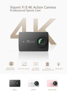 You'll totally forget all about GoPro when you get your hands on this Xiaomi Yi 2 4K sports cam. Gearbest returns with another killer presale. From now until June 30th, you can pick up the Xiaomi