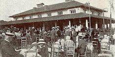 """Το Αναψυκτήριον Αίγλη του Κ. Ρώμπαπα, Ζάππειον, 1911-1925 (Από το λεύκωμα """"ΑΘΗΝΑΙ"""" που εκδόθηκε το 1925)"""