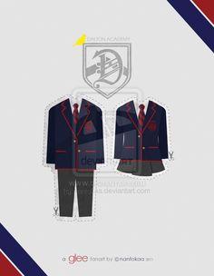 glee: dalton's uniform by nantokaa.deviantart.com on @deviantART
