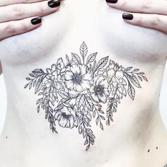 [ first on a sternum ] from last time I was in Adelaide • for Tess • thanks for flying down from Sydney and sitting so well for your first tattoo