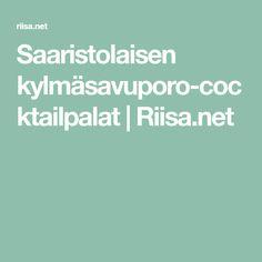 Saaristolaisen kylmäsavuporo-cocktailpalat | Riisa.net